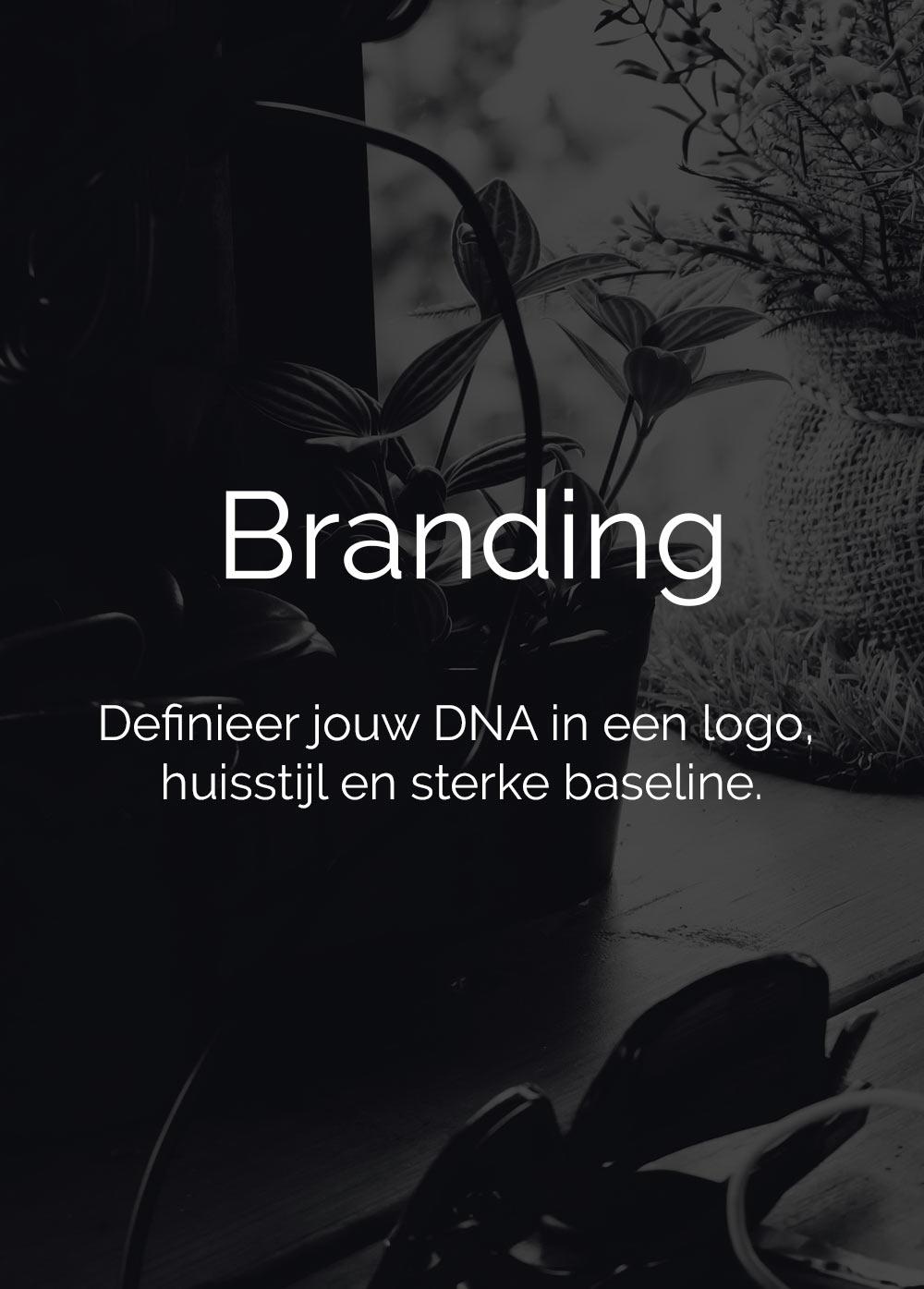 Branding - Definieer jouw DNA in een logo, huisstijl en sterke baseline